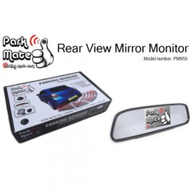 "Mirror Mount Display - 4.3"" - Clip on"