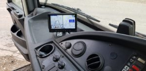CCTV Display Screen - Commercial Vehicle